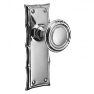Polished Chrome Plain Latch