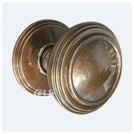 Polished Solid Bronze Antiqued