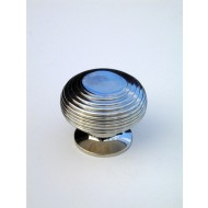 large beehive cupboard knob nickel