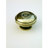 large bloxwich cupboard knob brass