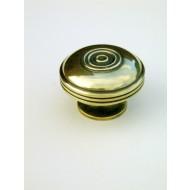 large bloxwich cupboard knob brass