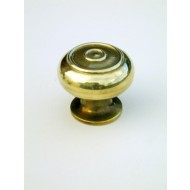 small bloxwich cupboard knob brass
