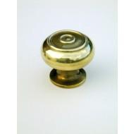 small bloxwich cupboard knob brass