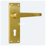 brass lock handles