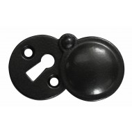 Stonebridge Black Covered Key Escutcheons