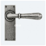 Finesse Design Fenwick Lever Handles on Plain Backplate