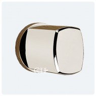 contemporary nickel door knobs