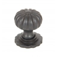 Anvil Flower Cupboard Door Knobs