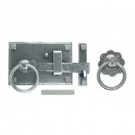Pewter Cottage Latch Left Hand