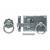 Pewter Cottage Latch Right Hand