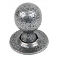 Ball Door Knobs In Pewter