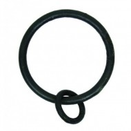 beeswax black curtain ring