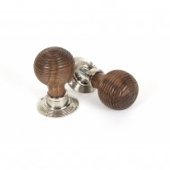 Rosewood Beehive Mortice or Rim Door Knobs