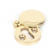 Polished Brass Covered Escutcheon