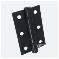 Black 76x50mm Ball Bearing Hinge