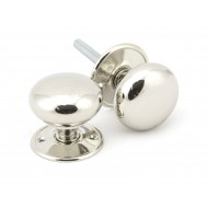Polished Nickel Mushroom Mortice or Rim Door Knobs