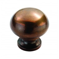 solid bronze cupboard knob