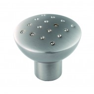 satin nickel cupboard knob
