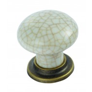 traditional porcelain cupboard knob
