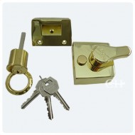 brass yale type nightlatch
