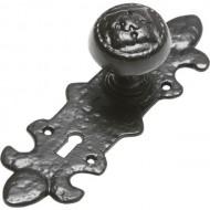 kirkpatrick doorknobs on backplate