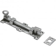 pewter necked door bolt