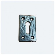 Kirkpatrick Keyway Escutcheon in Pewter