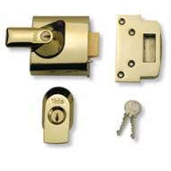 insurance yale lock brass