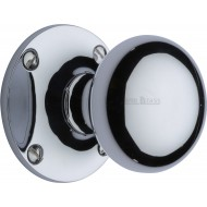 Kensington Large Victorian Knobs in Polished Chrome