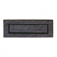 black antique letter plate