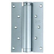 QUALITY Single Action Spring Hinges in Silver or Satin Stainless