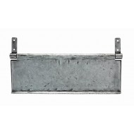 Pewter Internal Letter Tidy