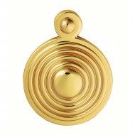 keyhole escutcheon polished brass