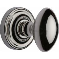 Chelsea Oval Door Knobs in Polished Nickel