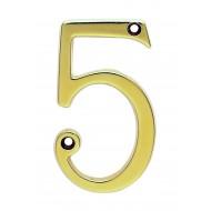 brass numeral