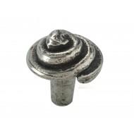 finesse pewter cupboard knob