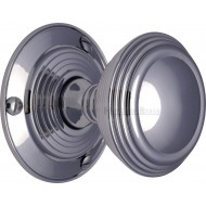 Goodrich Period Door Knobs in Polished Chrome