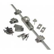 Locking Espagnolette Bolt In Pewter