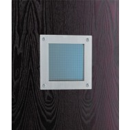 shown with georgian wired glass