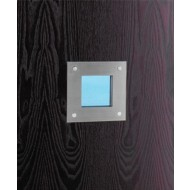 Square Stainless Vision Panel