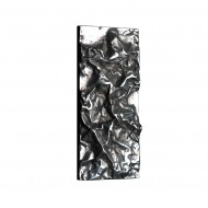 Philip Watts Small Crushed Push Plate Aluminium Brass Or Bronze