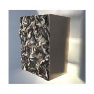 Philip Watts Crushed Light Aluminium Brass Or Bronze
