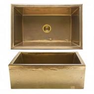 silicon bronze light apron sinks