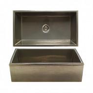 white bronze light sinks