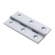 satin chrome hinge