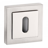 dual finish keyhole
