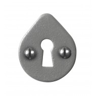Stonebridge Hand Forged Steel Open Key Escutcheons