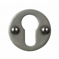 Stonebridge Hand Forged Steel Euro Escutcheons