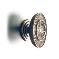 Philip Watts Sunburst 150 Centre Door Knobs Aluminium Brass Or Bronze