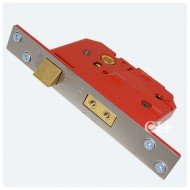 union british standard sash lock satin